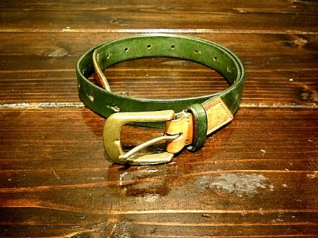 TURRET14 × Leatherkiller-MK 25mm2TONE BELT